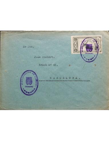 Castilla y León. Historia Postal. Castilla y León. Historia Postal. ADMINISTRACION DE CORREOS / (SALAMANCA) / LEDESMA. MAGNIFI