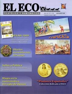 Nº1176 El Eco Filatélico y Numismático
