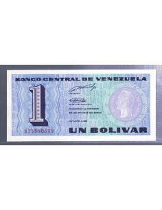Venezuela. Billete de 1 bolivar