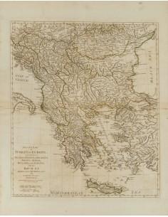Yugoslavia, Bibliografía. 1786. SECOND PART OF TURKEY IN EUROPE. Samuel Dunn. Londres, 1786 (incluyendo Valaquia, Croacia, Dal