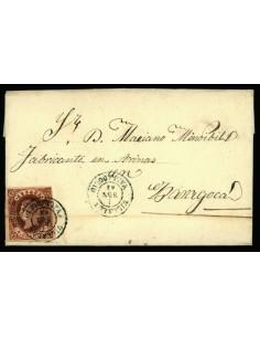 OL00388. 1863. Villalón a Zaragoza