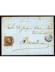 OL00390. 1869, 11 de diciembre. Ateca a Barcelona