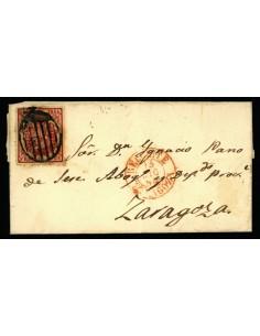 OL00391. 1854, 13 de diciembre. Belchite a Zaragoza