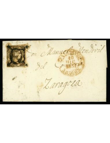 OL00392. 1851, 10 de diciembre. Calatayud a Zaragoza