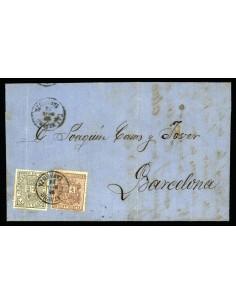 OL00400. 1874, 30 de noviembre. Calatayud a Barcelona