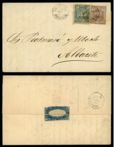OL00401. 1875, 16 de abril. Calatayud a Albacete