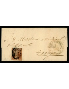 OL00403. 1852, 3 de diciembre. Ejea de los Caballeros a Zaragoza