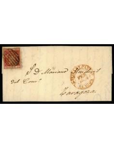 OL00404. 1854, 4 de febrero. Ejea de los Caballeros a Zaragoza