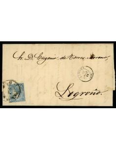 OL00436. Carta. 1865, 31 de octubre. Zamora a Logroño