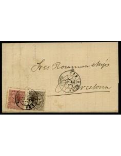 OL00437. Carta. 1878, 26 de octubre. Cartagena a Barcelona