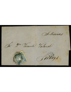 OL00438. Carta. 1866, 3 de mayo. Madrid a Salas