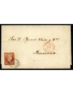 OL00439. Carta. 1857, 13 de mayo. Antequera a Barcelona