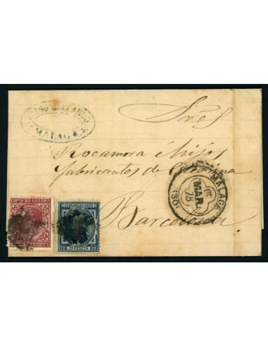 OL00440. Carta. 1878, 3 de marzo. Málaga a Barcelona