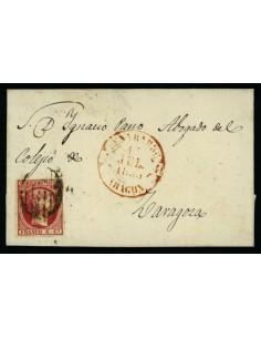 OL00482. Carta. 1853, 14 de junio. Benabarre a Zaragoza