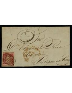 OL00483. Frontal. 1854, 8 de agosto. Ayamonte a Ortigosa de Cameros