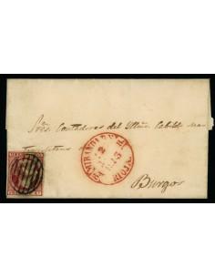 OL00484. Envuelta. 1853, 22 de julio. Miranda de Ebro a Burgos