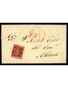 OL00485. Carta. 1854, 1 de septiembre. Hellín a Albacete