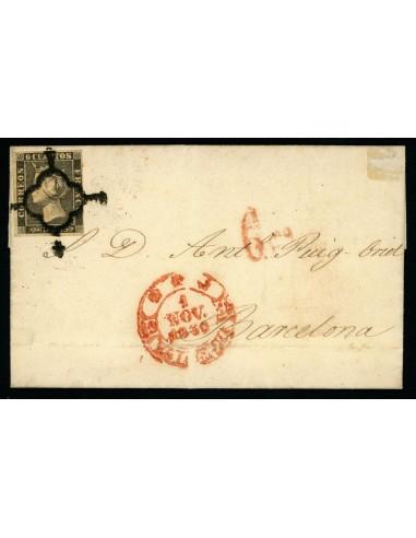 OL00486. Carta. 1850, 1 de noviembre. Valencia a Barcelona