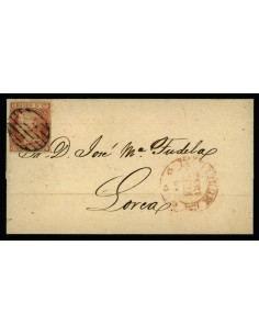 OL00547. Envuelta. 1852, 18 de febrero. Murcia a Lorca