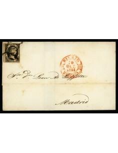 OL00549. Envuelta. 1851, 10 de octubre. Bilbao a Madrid