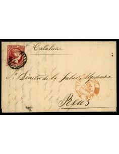 OL00550. Carta. 1853, 24 de febrero. Bilbao a Reus