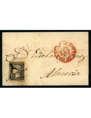 OL00551. Envuelta. 1850, 29 de noviembre. Málaga a Almería