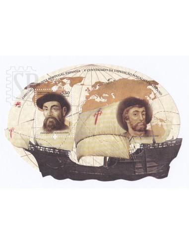 Portugal Espanha 2019 500 anos expedição Fernão Magalhães - Juan Sebastián Elcano Join Issue España