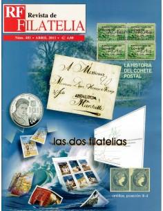 Nº 481 Revista de Filatelia RF