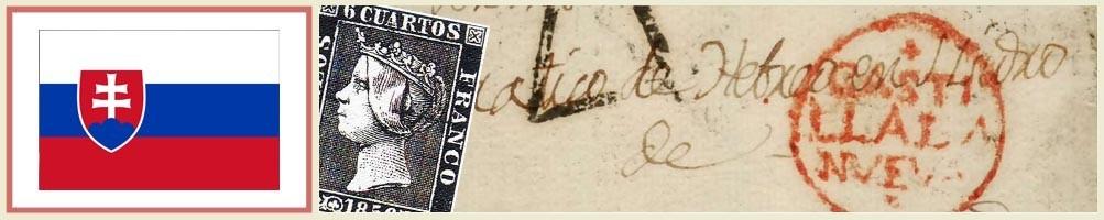 Philately of Slovakia - numismaticayfilatelia.com
