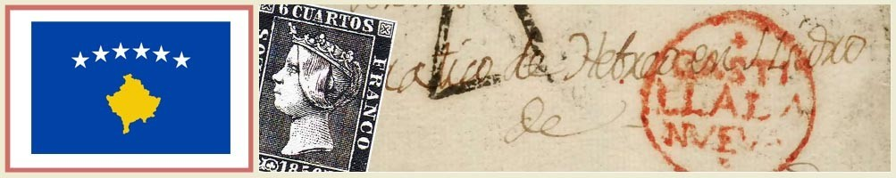 Kosovo philately - numismaticayfilatelia.com