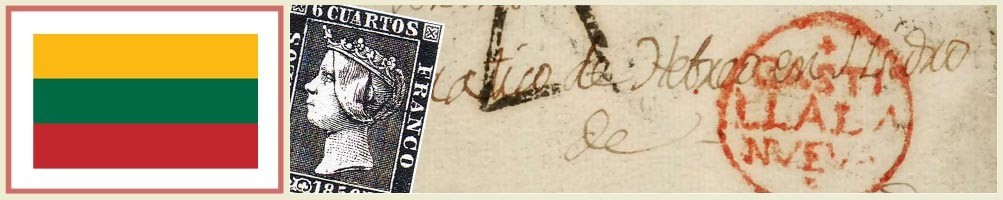 Lithuanian philately - numismaticayfilatelia.com