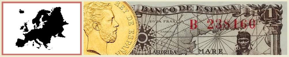 numismatics of europe - numismaticayfilatelia.com
