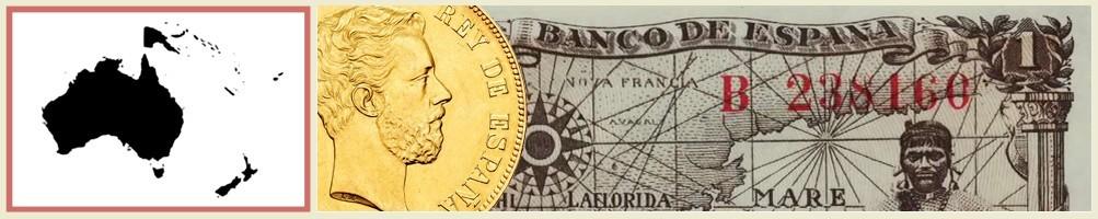 numismatics of oceania - numismaticayfilatelia.com
