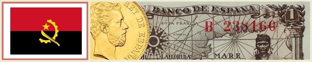 Numismatics of Angola - numismaticayfilatelia.com