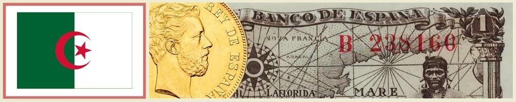 Numismatics of Algeria - numismaticayfilatelia.com