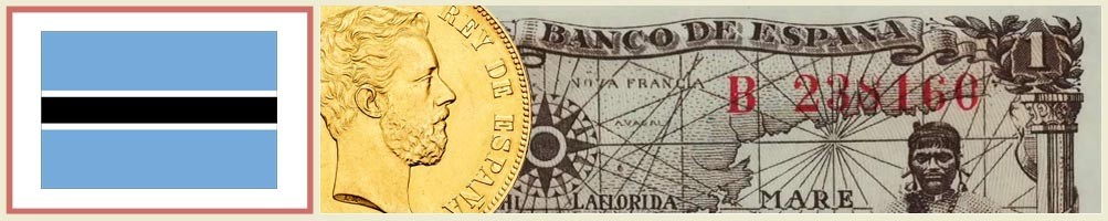 Botswana Numismatics - numismaticayfilatelia.com