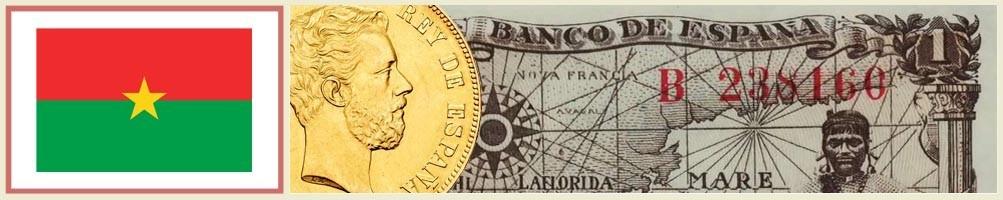 Numismatics of Burkina Fasso - numismaticayfilatelia.com