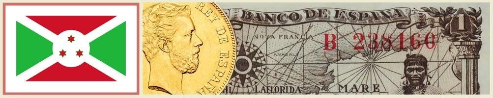 Numismatics of Burundi - numismaticayfilatelia.com