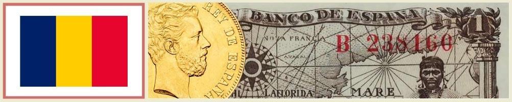 Numismatics of Chad - numismaticayfilatelia.com