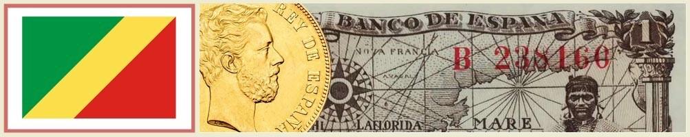 Numismatics of Congo Brazzaville - numismaticayfilatelia.com