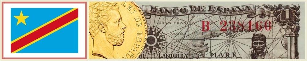 Numismatics of Congo Kinshasa - numismaticayfilatelia.com