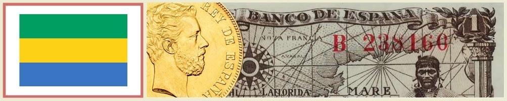 Numismatics of Gabon - numismaticayfilatelia.com