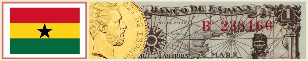 Numismatics of Ghana - numismaticayfilatelia.com