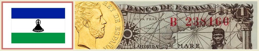Lesotho Numismatics - numismaticayfilatelia.com
