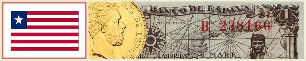 Liberian Numismatics - numismaticayfilatelia.com
