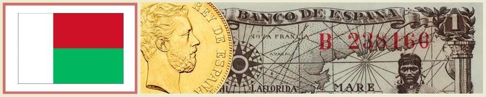 Numismatics of Madagascar - numismaticayfilatelia.com