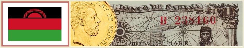 Numismatics of Malawi - numismaticayfilatelia.com