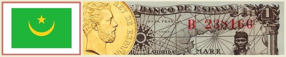 Numismatics of Mauritania - numismaticayfilatelia.com