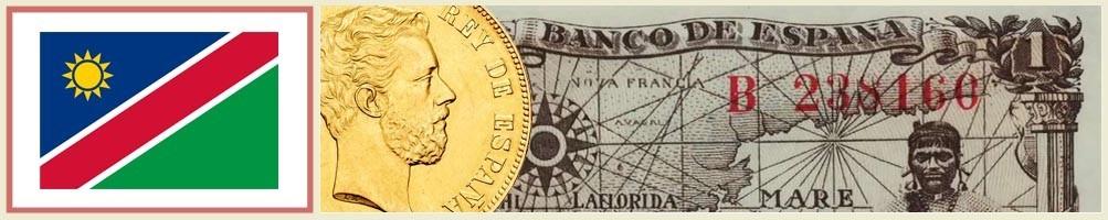Numismatics of Namibia - numismaticayfilatelia.com