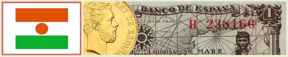 Niger Numismatics - numismaticayfilatelia.com